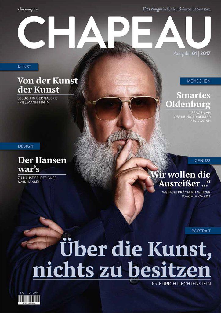Chapeau Cover - Ausgabe 1
