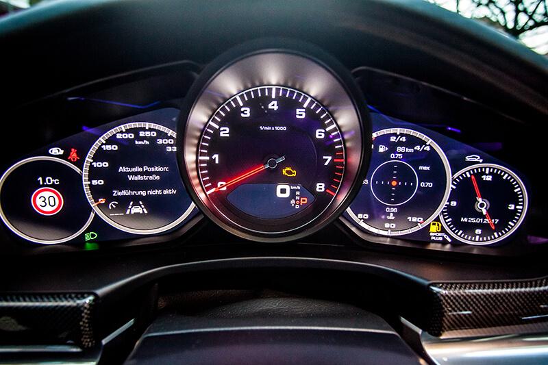 Porsche Panamera 4S Innenraum