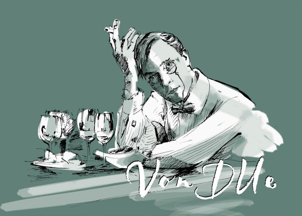 Klaus von Due - Bei Tisch - Iss Schmitz