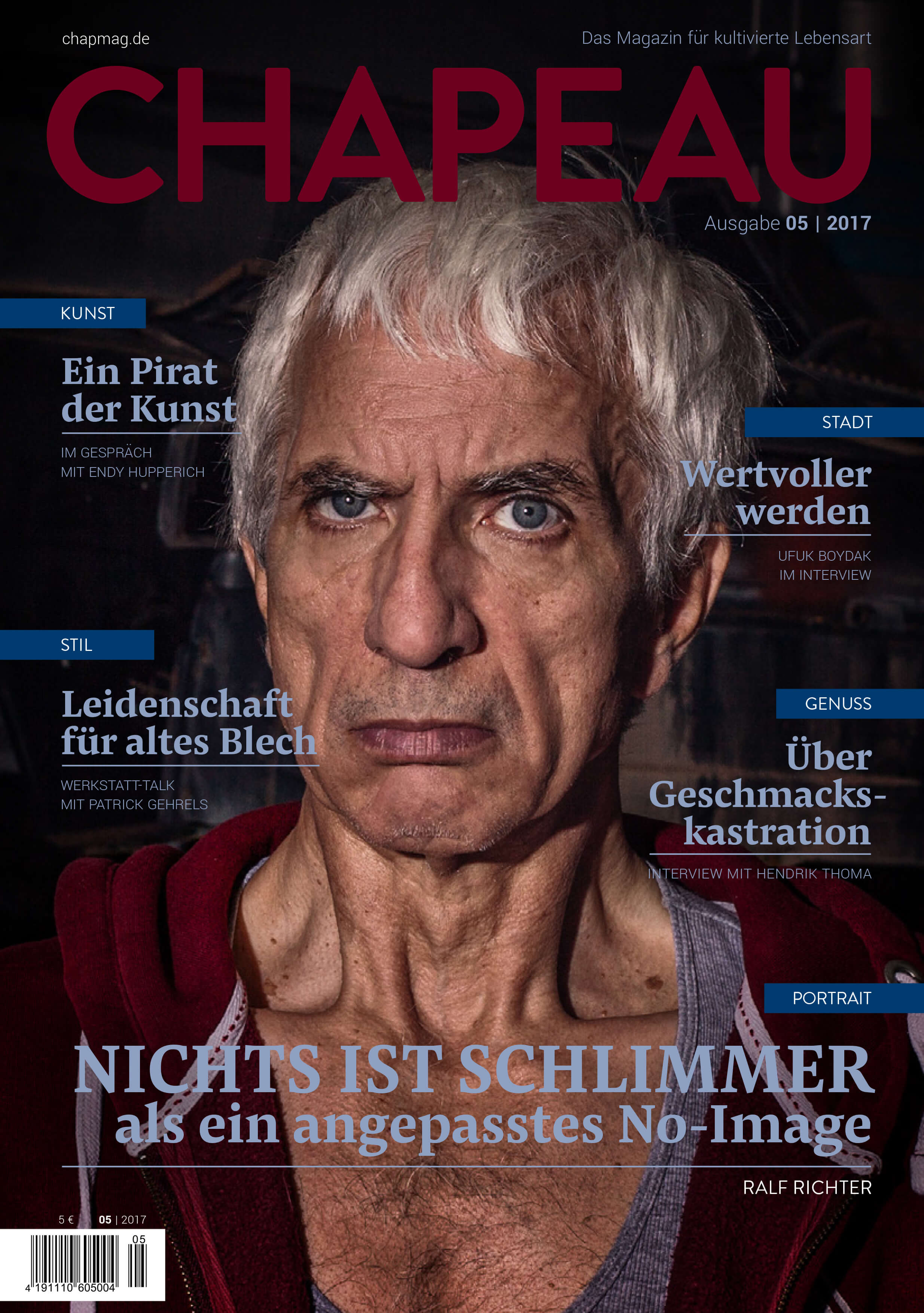 Ralf Richter - Cover - Chapeau Ausgabe 5