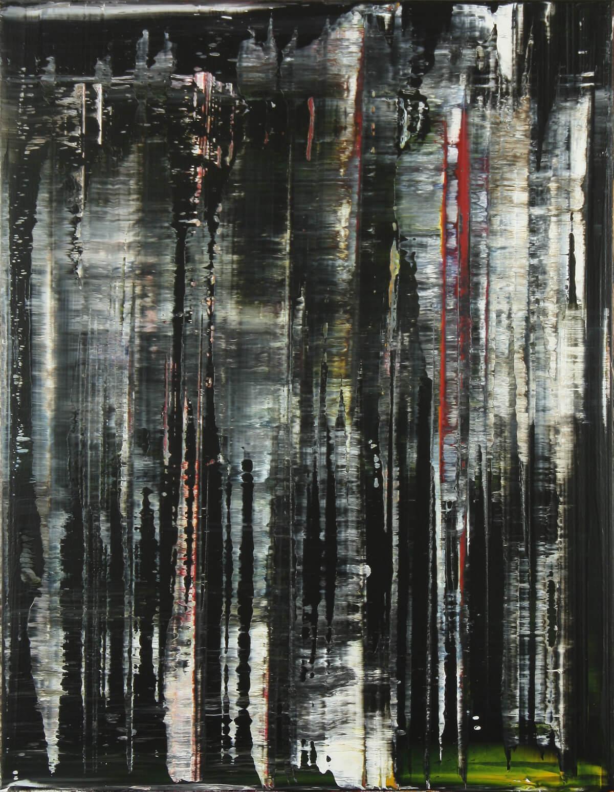 Streifen, 2017, acrylic on canvas, 70x90cm